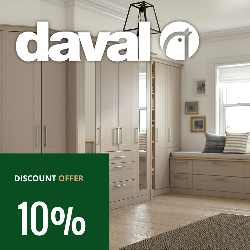 Daval Discount Offer April 2018 | Archway Interiors Ltd