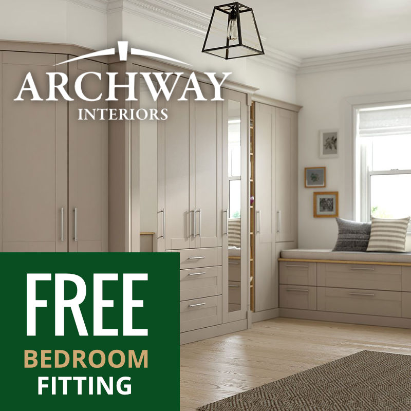 Bedroom Furniture Free Fitting Offer | Archway Interiors Ltd