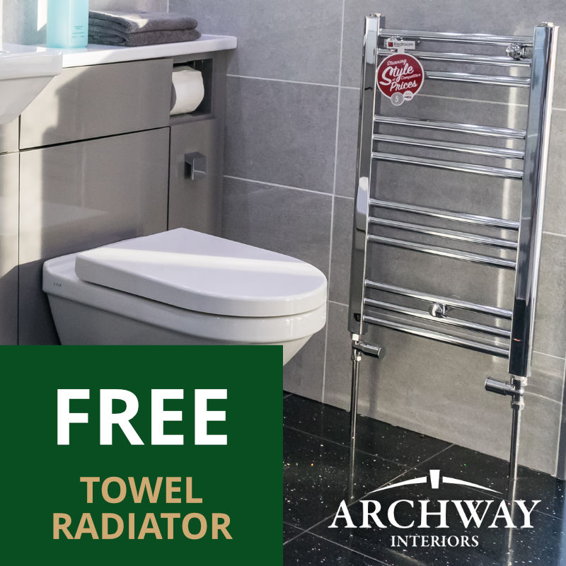 Free Towel Radiator Offer | Archway Interiors Ltd