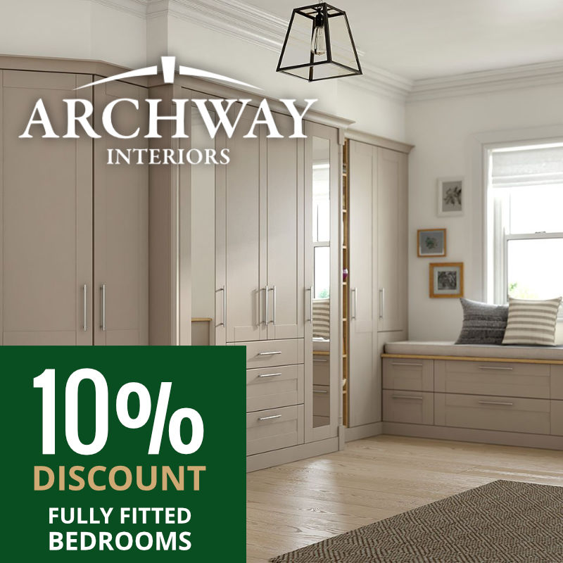 Bedroom 10% Discount Offer | Archway Interiors Ltd